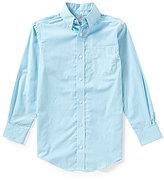 Class Club Big Boys 8-20 Gingham Woven Shirt