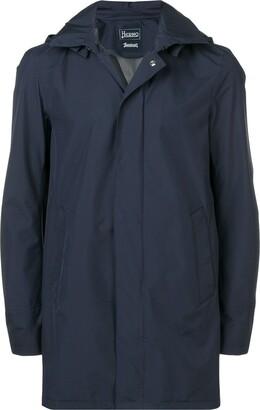 Herno hooded raincoat