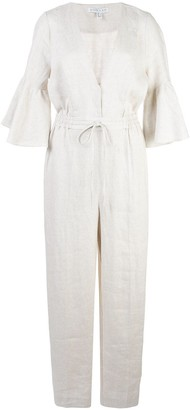 Shona Joy Savannah ruffled sleeve jumpsuit