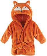 Hudson Baby Orange Fox Hooded Bathrobe - Infant