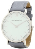 Larsson & Jennings Lugano 38mm stainless steel watch