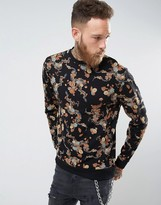 Asos Sweatshirt In Floral Print