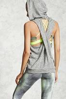 Forever 21 FOREVER 21+ Active Sleeveless Hooded Top