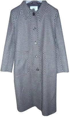 Prada Anthracite Wool Coat for Women