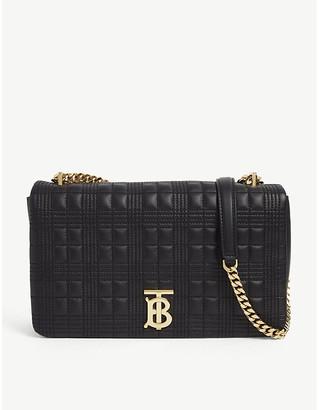 Burberry Lola quilted medium leather shoulder bag