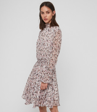 AllSaints Ria Freefall Dress