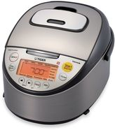 Tiger Micom 5.5-Cup Induction Rice Cooker and Warmer in Black