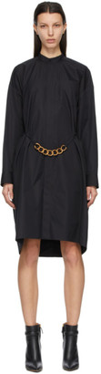 Givenchy Black Chain Shirt Dress