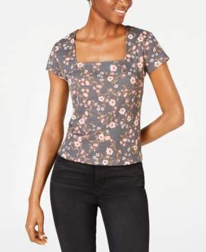 Self Esteem Juniors' Square-Neck Top