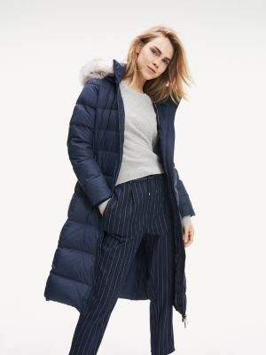 Tommy Hilfiger Maxi Length Padded Coat