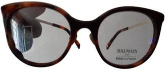 Balmain Black Plastic Sunglasses