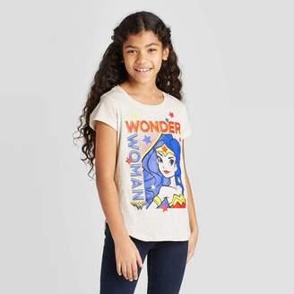 Off-White DC Comics Girls' Wonder Woman Power T-Shirt