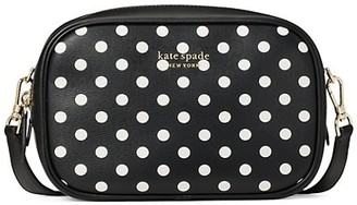 Kate Spade Medium Infinite Lady Polka Dot PVC Camera Bag
