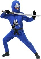 Charades Big Boys' Ninja Master Costume (12-14)