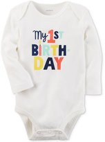 Carter's My 1st Birthday Cotton Bodysuit, Baby Boys (0-24 months)