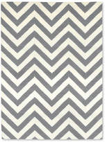 Jonathan Adler Herringbone Rug - Grey / Natural - 4'x6'