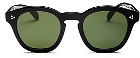 Oliver Peoples Women's Boudreau Round Sunglasses, 48mm