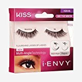 Kiss i-Envy Blooming Black Strip Eyelashes - KBI06 (6 Pack)