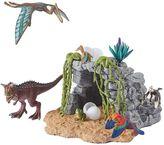 Schleich 14-pc. Dinosaur Cave Set