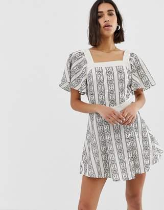 Stevie May Noir mini dress-Multi