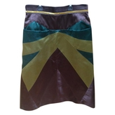 Louis Vuitton Multicolour Silk Skirt