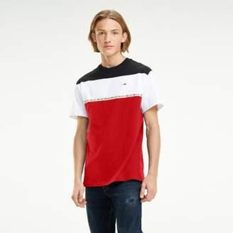 Tommy Hilfiger Colour-Blocked Organic Cotton T-Shirt