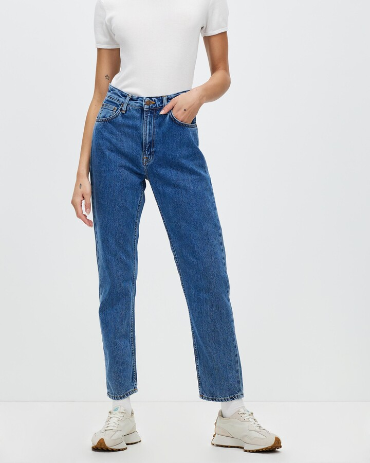 Thumbnail for your product : Nudie Jeans Women's Blue Slim - Breezy Britt Jeans - Size W26/L28 at The Iconic