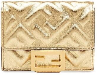 Fendi small tri-fold Baguette wallet