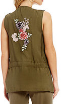 Takara Embroidered-Back Vest