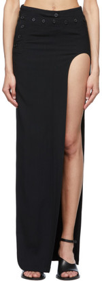 Ann Demeulemeester Black Open Leg Bethany Skirt