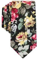 Bar III Men's Botanical Bougner Floral Slim Tie, Created for Macy's