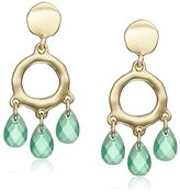 Karen Kane Shoreline Organic Drop Earrings