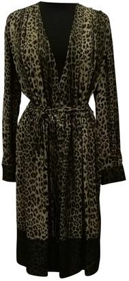 Givenchy Khaki Silk Dresses
