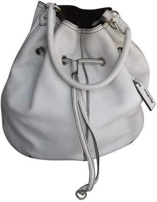 Max Mara Ecru Leather Handbags