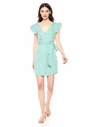 BB Dakota Womens Peppermint Yarn Dyed Cotton Shirt Dress
