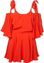 Bow Shoulder Dress