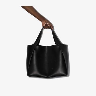 Stella McCartney Black Faux Leather Tote Bag