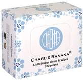 Charlie Banana 100 Cloth Diaper Liners and Wipes