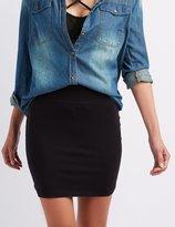 Charlotte Russe High-Waisted Bodycon Mini Skirt