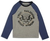 True Religion Boys' World Tour Colorblock Tee - Sizes 8-18