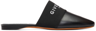 Givenchy Black Bedford Mules
