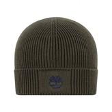 Timberland TimberlandBoys Khaki Cotton Knit Pull On Hat