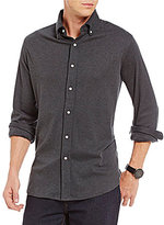 Daniel Cremieux Supima Cotton Long-Sleeve Solid Knit Shirt