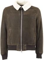 Stewart Garland Brown Leather Jacket