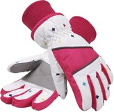 SimpliKids Simpli-Kids Girl's Waterproof Thinsulate Winter Ski & Snowboard Gloves, Stars Pattern,M