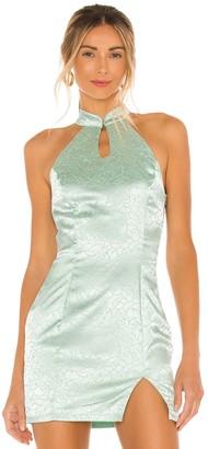 superdown Delaney Mock Neck Dress