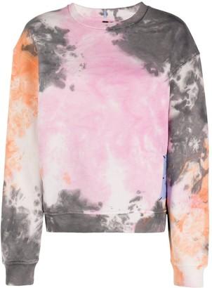 McQ Genesis tie-die sweatshirt