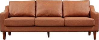 Brixton Argos Home 3 Seater Faux Leather Sofa