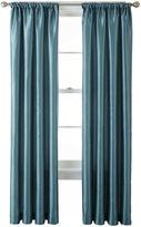 Liz Claiborne Gallery Taffeta Rod-Pocket Curtain Panel