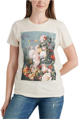 Lucky Brand Floral-Graphic T-Shirt